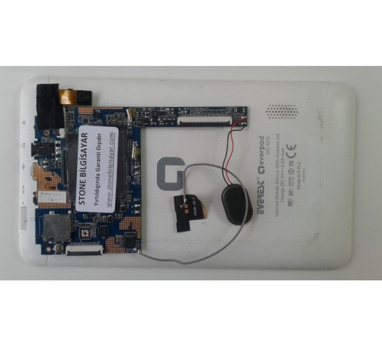Everest everpad dc-1215 Tablet Anakartı